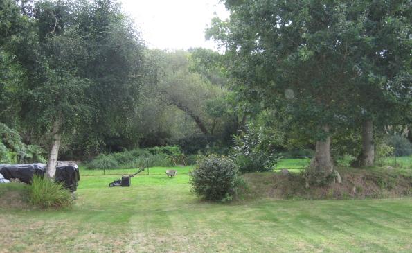 jardin paysager calme gouesnach