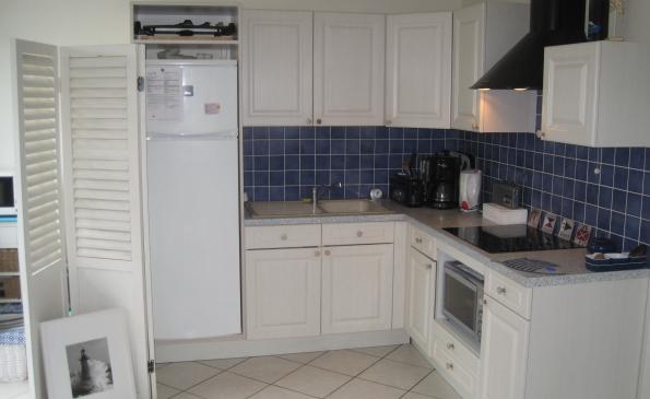 cuisine ouverte appartement hyper centre benodet