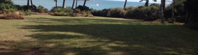parc vue mer pointe phare sainte marine combrit