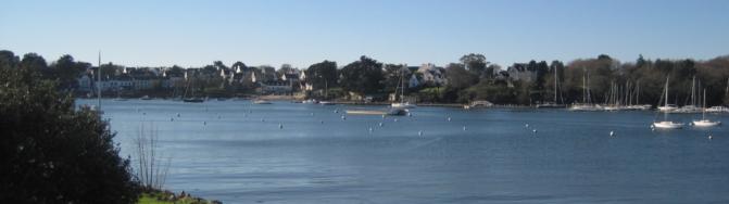 maison vue mer benodet port centre benodet