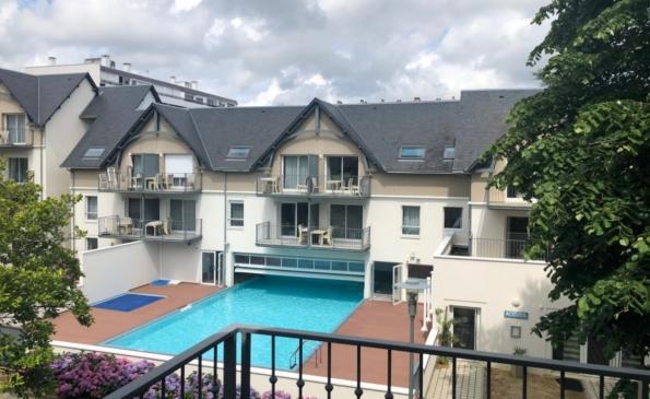 benodet appartement 3 pièces proche plage piscine